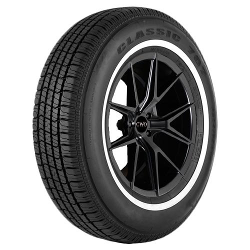 4-P225/70R15 Vercelli Classic 787 100S White Wall Tires