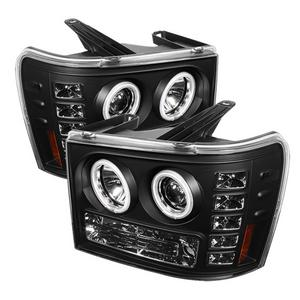 Spyder Auto 5030184 CCFL LED Projector Headlights