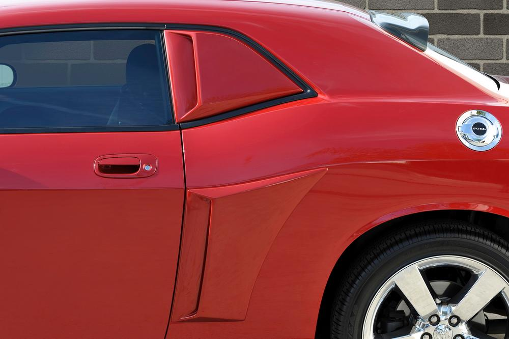 Xenon 12950 Quarter Window Scoop Kit Fits 08-14 Challenger