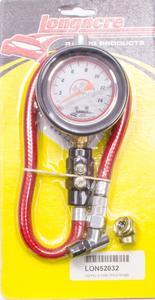 LONGACRE 2-1/2 in Diameter Analog 0-15 psi Deluxe Tire Pressure Gauge P/N 52032