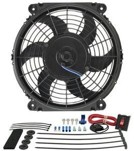 DERALE 650 CFM Tornado 10 in Electric Cooling Fan P/N 16510