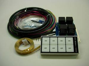 AUTO ROD CONTROLS Dash Mount Model 4000 Switch Panel P/N 4000D