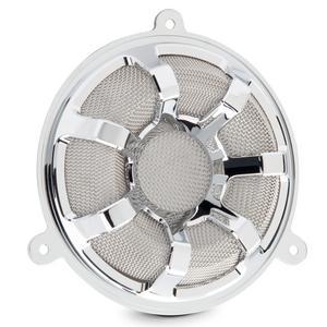 Arlen Ness Chrome Beveled Forged Billet Speaker Grill 03-909
