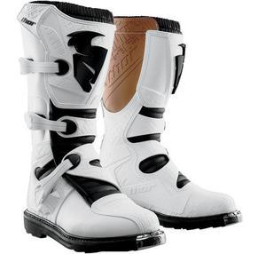 Thor 3430-0869 Strap Kit for Blitz Boots - White - 10-15