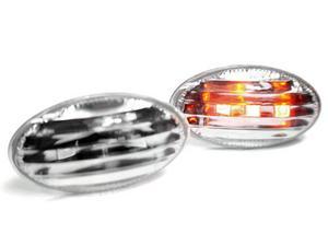 01-06 MINI COOPER / COOPER S LED SIDE MARKER LIGHTS - CRYSTAL CLEAR