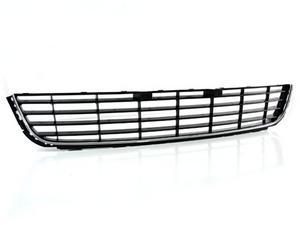 10-14 VW MK6 GOLF/JETTA SPORTWAGEN LOWER CENTER GRILLE - BLACK W/ SILVER TRIM