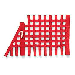 SIMPSON SAFETY Trapezoid Red Window Net P/N 36004RD