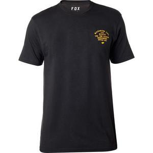 Fox Flag Fly Basic T-Shirt (Black, Medium)