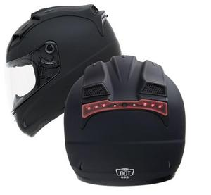 G-Max G980004 Top Vent for GM68S Helmet with LED - Flat Black
