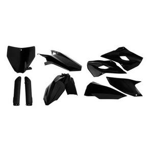 Acerbis 2403080001 Full Plastic Kit - Black