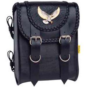 "Willie & Max Black Magic Sissy Bar Bag 8""x10""x4.5"" 8""x10""x4.5"""