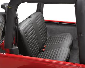 Bestop Seat Cover, Rear Bench Seat - Jeep 2003-2006 Wrangler