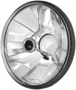 Adjure T50704 5 3/4in Pie Cut Trillient Headlight with Black Dot