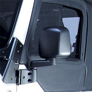 Rugged Ridge 11002.11 Factory Style Mirror Fits Wrangler (LJ) Wrangler (TJ)