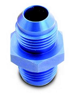 A-1 Products 6 AN Male to 6 AN Male Aluminum Straight Fitting P/N 81506