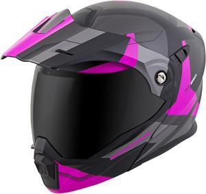 Scorpion EXO-AT950 Modular Neocon Dual Sport Motorcycle Helmet Pink XL