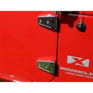 Rugged Ridge 11113.06 Door Hinge Cover Fits 07-18 Wrangler (JK)