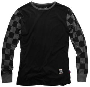 100% Shibuya Long Sleeve T-Shirt (Black, Small)