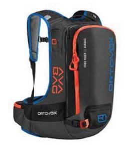 Ortovox 4673800001 Free Rider 22 Avabag Kit - Black Anthracite