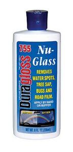 Nu-Glass Water Spot Remover, 8 oz. (755)