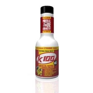 K100 401 Gasoline Fuel Treatment with Enhanced Stabilizer - 8oz.