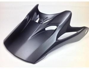 Arai Helmets 095383 Visor for VX-Pro4 Helmet - Solid Black Frost