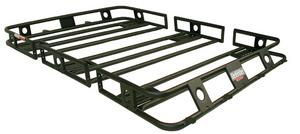 Smittybilt 40405 Defender Roof Rack 4 Ft x 4 Ft x 4 in Bolt Together Black