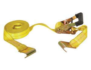 """Buyers 2"""" X 27 Foot Ratchet Strap With Double J Hooks RTD12271J"""