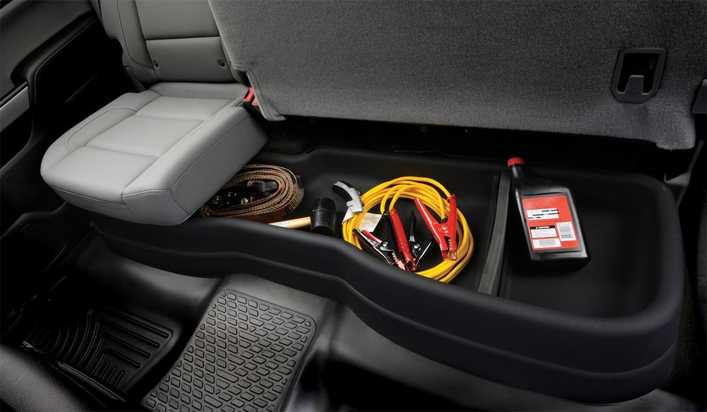 Husky 09261 Gearbox Underseat Storage Cargo Box Organizer 09-14 Ford F150 ExtCab