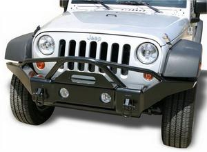 Rampage 86510 Front Recovery Bumper Fits 07-16 Wrangler (JK)