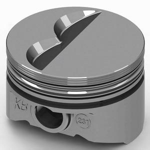 KB PERFORMANCE PISTONS 4.040 in Bore Small Block Chevy Piston 8 pc P/N KB231.040