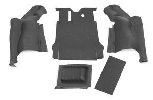 BedRug BTJK07R2 BedTred Cargo Kit Fits 07-10 Wrangler (JK)