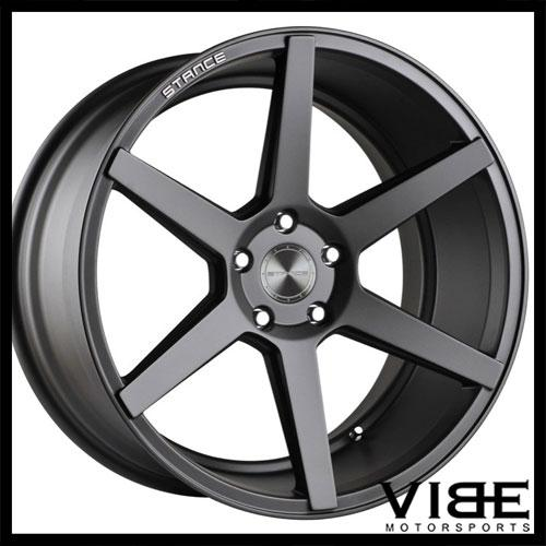 20 Stance Sc6 Grey Concave Wheels Rims Fits Bmw E60 M5 Sold By Vibe