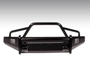 Fab Fours FF15-K3252-1 Black Steel Front Bumper Fits 15-17 F-150