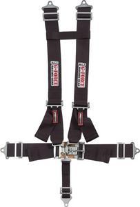 G-FORCE Black Latch and Link 5 Point Harness P/N 6030BK