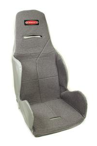 KIRKEY Gray Tweed Hook Attachment Seat Cover P/N 16417