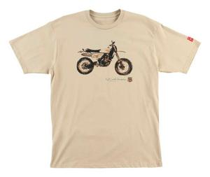 FMF Adult KC 66 Sandstorm T-Shirt Tan Tee Shirt Mens Size S