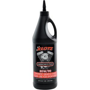 Klotz Oil KH-S80 Sportster Gear and Chain Case Lubricant - 80W90 - 1qt.