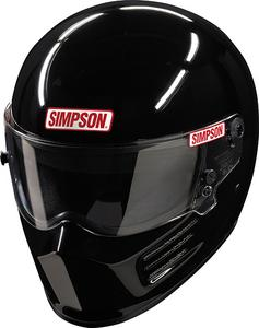 SIMPSON SAFETY 6200022-F Helmet Bandit Medium Black SA2015 FIA