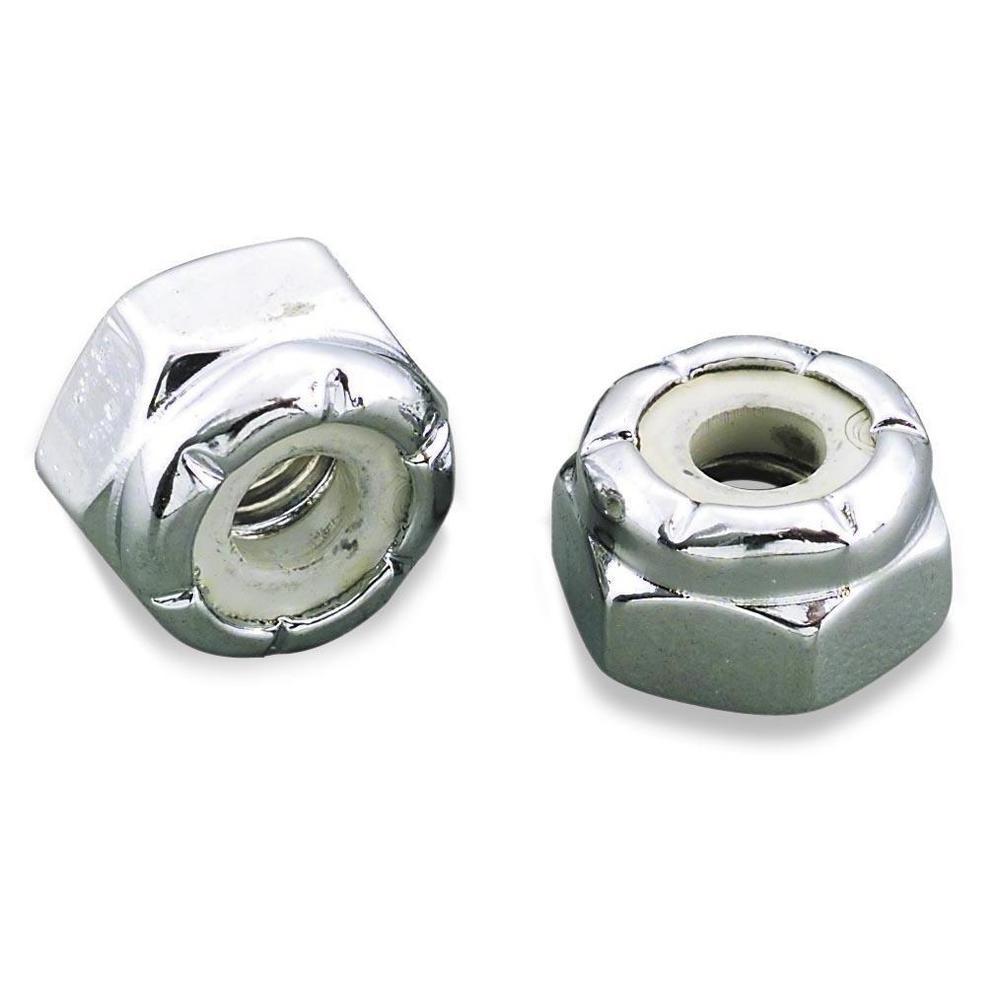 Gardner-Westcott 17540 Nylon Insert Lock Nuts - Coarse Thread 8/32in.