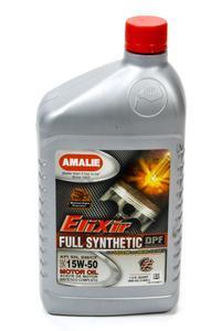 Amalie Elixir 15W50 Motor Oil 1 qt P/N 75736-56