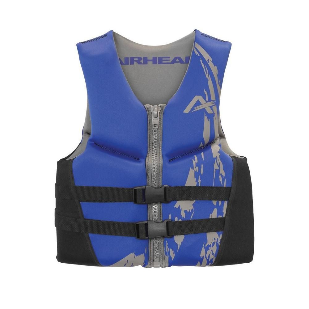 Kwik Tek Swoosh Neolite Kwik-Dry Life Vest (Blue, XX-Large)