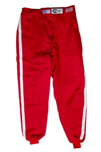RJS SAFETY X-Large Red Multiple Layer Driving Pants P/N 200090406