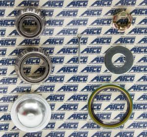 AFCO RACING PRODUCTS GM Metric Wheel Bearing Kit P/N 9851-8550