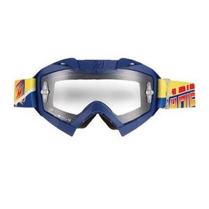 Ariete Adrenaline Senior Collection MX Goggles Blue/Yellow (Blue, OSFM)