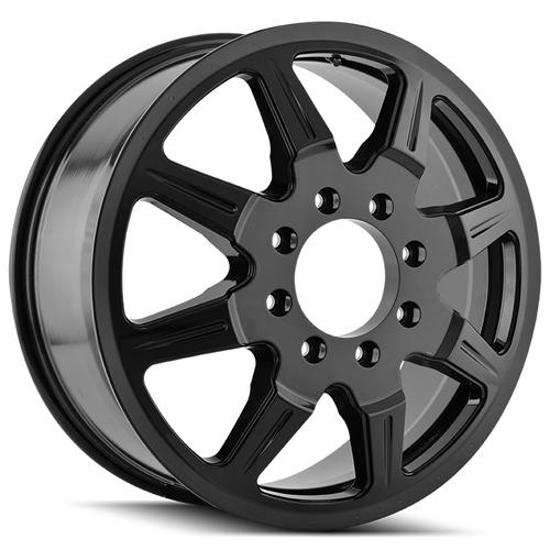 "Mayhem 8101 Monstir Dually Inner 20x8.25 8x170 +127mm Black Wheel Rim 20"" Inch"