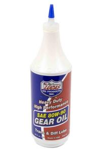 Lucas Oil Heavy Duty Gear Lube 80W90 1 qt P/N 10043