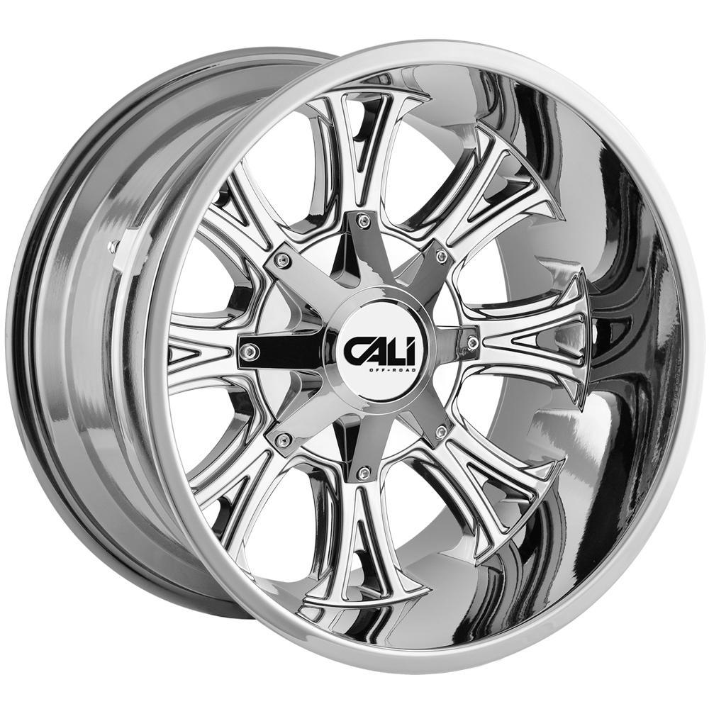 "4-Cali Off-Road 9101 Americana 20x9 5x5""/5x5.5"" +18mm PVD Wheels Rims 20"" Inch"
