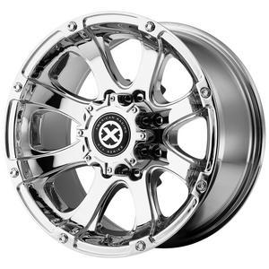 "ATX Series AX188 Ledge 16x8 8x6.5"" +0mm PVD Wheel Rim 16"" Inch"