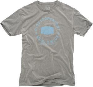 100% 2017 Adult Tee Shirt Worldwide Grey T-Shirt S